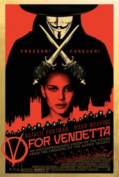 V For Vendetta - Poster